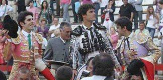 Todos a hombros en Cáceres. (FOTO:Juan Carlos Terroso/Burladero.com)