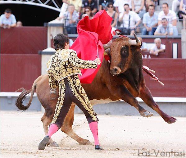 Sabiendo lo que se dejaba atrás. (FOTO:Juan Pelegrín/Las-Ventas.com)