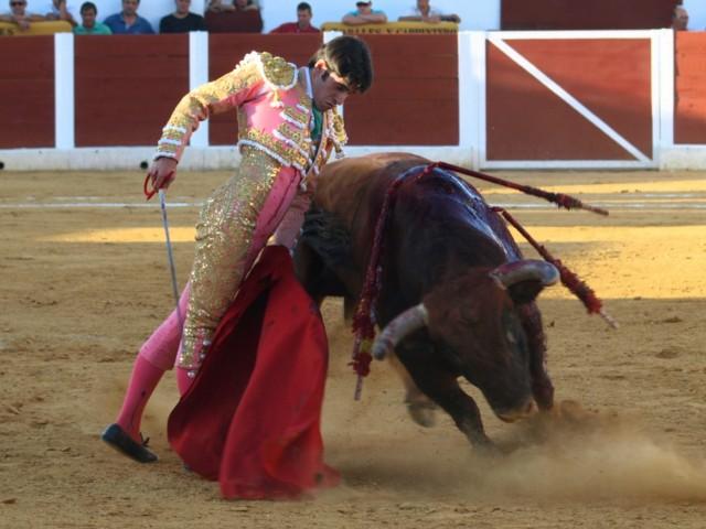 Un burel que da pavor no detiene la valía de un torero que siempre se entrega... alma sensible y corazón extremeño: Talavante.