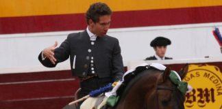Leonardo Hernández el pasado domingo en Zafra. (FOTO:Gallardo)