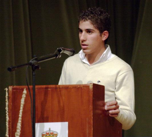 Rafael Cerro durante su intervención.