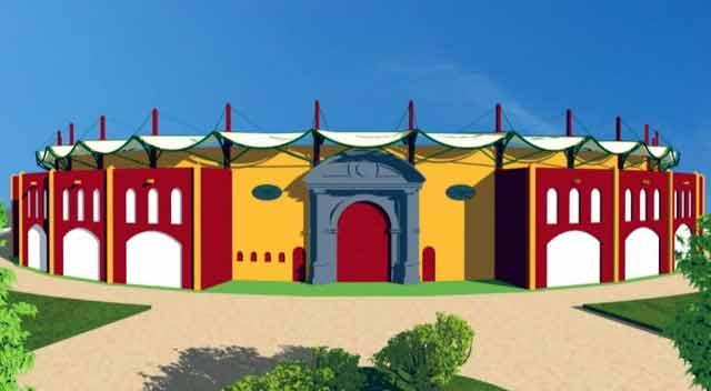 La Puerta Grande por donde espera la afición que salga la terna inaugural.