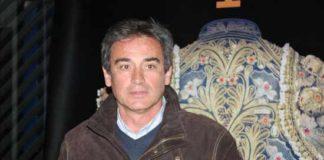 Luis Reina, maestro de la Escuela Taurina de Badajoz.