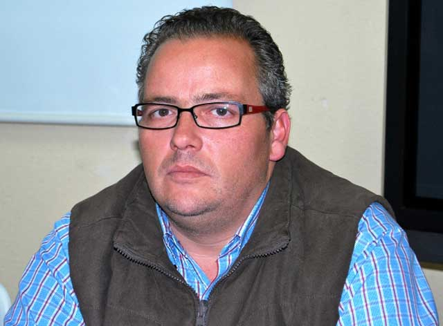 Fernando Masedo Pacheco impulsor de la obra que hoy se presenta. (FOTO: Campos)