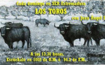 Los Toros en SER Extremadura. (Pintura de Fernando Naranjo).