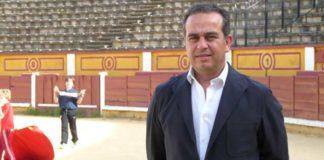 Joaquín Domínguez en el coso de Badajoz. (FOTO:Gª de Elexalde)