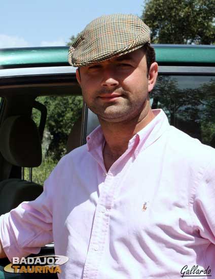 Carlos Muñoz representa la sabia nueva del campo extremeño. (FOTO: Gallardo)