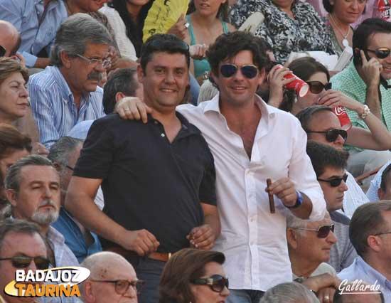 Los valencianos Lete y Quique Delgado, no faltaron a su cita.