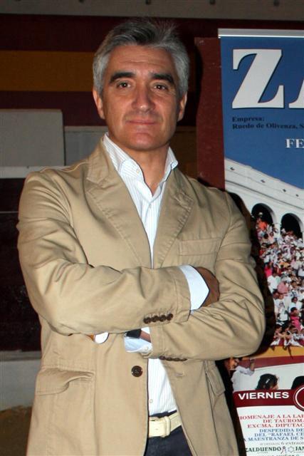 José Cutiño empresario taurino. (FOTO:Gallardo)