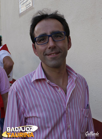 Juan Carlos Gil, periodista taurino.