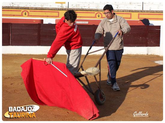Fernando González preparándose para el festival del próximo sábado. (FOTO: Gallardo)