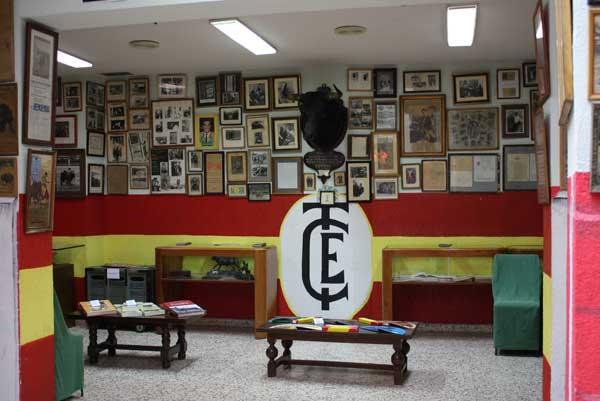Sala Bienvenida, única en el mundo taurino por su valor. (FOTO: Gallardo)
