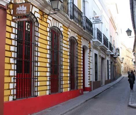 Sede del Club Taurino en el nº 8 de la c/ López Prudencio. (FOTO: Gallardo)