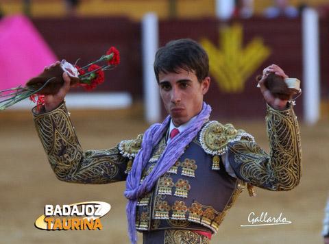 Espera poder triunfar como ya lo hice en Badajoz. (FOTO:Gallardo)