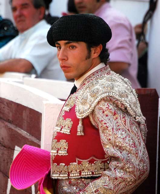 Jesús Díez, 'El Fini', torero de plata. (FOTO:F.J.Campos)