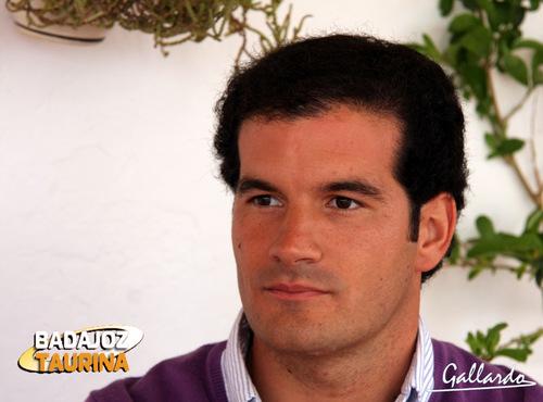 Luis Miguel Amado con la vista puesta en su alternativa. (FOTO: Gallardo)