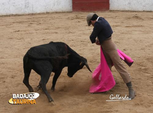 Luis Miguel Amado remata su trayectoria de novillero