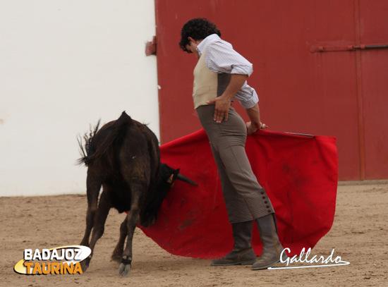 Fernando Ramos, conduciendo la embestida de la erala.