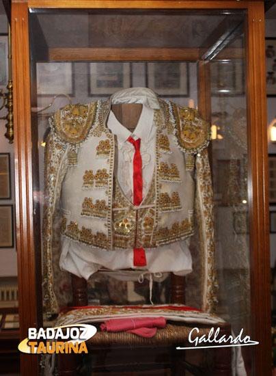 Traje con el que Antonio Ferrera salió por la puerta grande de Madrid tras faena a un Carriquiri.