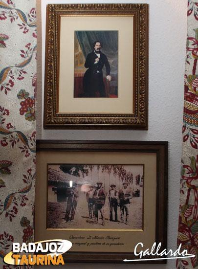 Dos imágenes de D. Nazario Carriquiri Ibarnegaray de Etechecopar Villanueva.