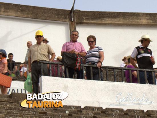 Fefi y Curro, su marido, se hicieron unos kilómetros para ver el evento.