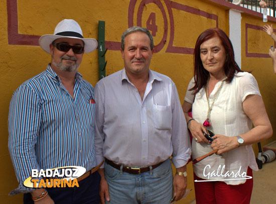 Antonio Mesa, Miguel Ruiz y Anabel Moreno.