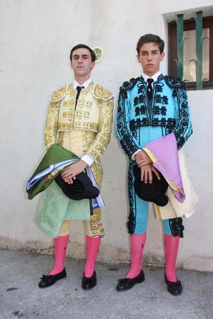 Fernando Flores y Ginés Marín, representantes de la E.T.Badajoz.