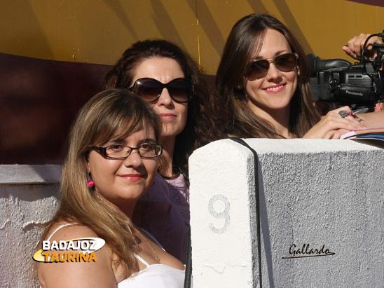 Vaya terna de mujeres guapas: Sandra, Lola y Estefanía