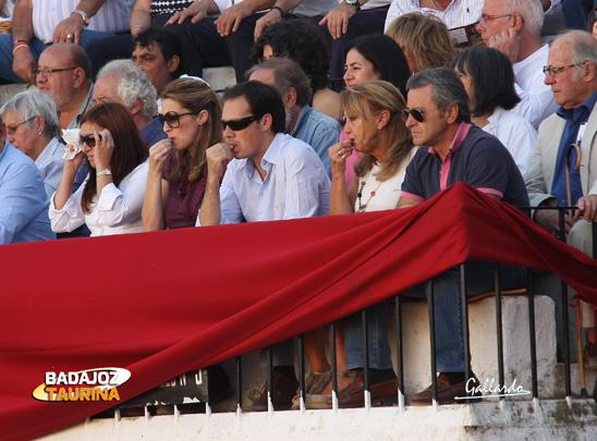 Juan Carlos y familia.