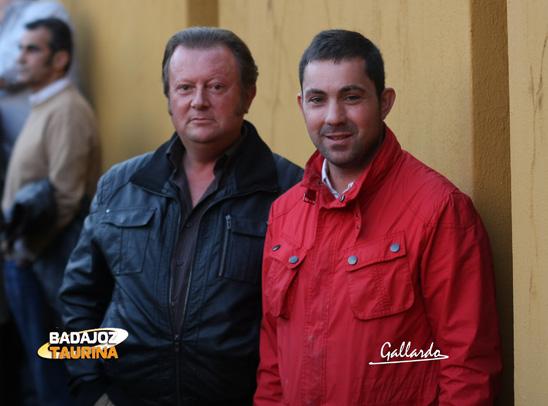 José Antonio y Manolo, dos grandes profesionales de sus gremios.