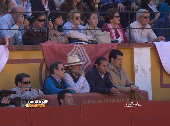 Antoñete, Tomás Rodríguez, El Cartujano y Emilio de Justo.