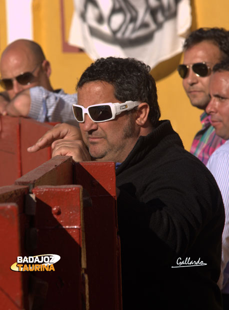 Antonio Posada y sus discretas gafas.