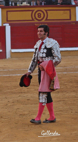 Así se marchaba Morante. (FOTO:Gallardo)