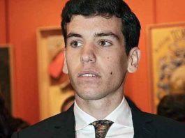 El novillero Tomás Campos, de Llerena (Badajoz).