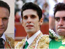 Los diestros pacenses Antonio Ferrera, Alejandro Talavante y Miguel Ángel Perera podrían sumar tres tardes cada uno en la Feria de San Isidro.