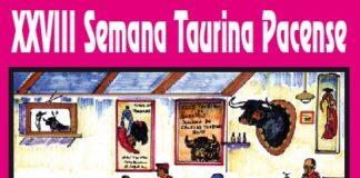Cartel anunciador de la Semana Taurina Pacense