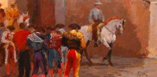 'Antes del paseíllo', Enrique Pastor