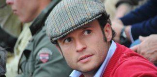 Antonio Ferrera, en Mourao, con la gorra del maestro Manzanares. (FOTO: JM Ambrós)