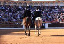 Paseíllo en Olivenza (FOTO: Gallardo)