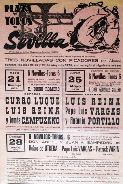 Sevilla, anunciado dos tardes de novillero con caballos