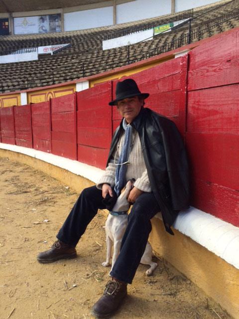 Luis Reina, en la actualidad, en el ruedo que le vio nacer como torero.