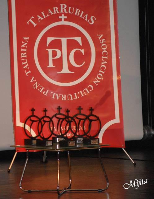Los galardones anuales que entrega la ACT Talarrubias