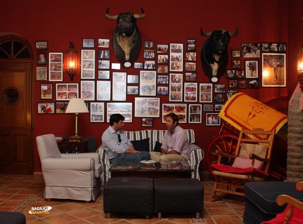 Carlos Muñoz atendiéndonos para esta entrevista (FOTO: Gallardo)