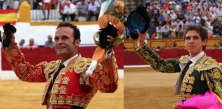 Antonio Ferrera y Ginés Marín en dos imágenes de archivo (FOTO: Gallardo)