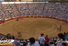 Aspecto de la plaza de toros de Badajoz. (FOTO: Gallardo)