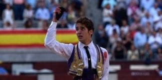 Posada de Maravillas con la oreja ganada a ley en Las Ventas (FOTO:Julián López-mundotoro.com)