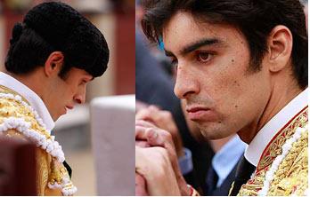 Alejandro Talavante y Miguel Ángel Perera en imágenes de archivo (FOTOS:Juan Pelegrín)