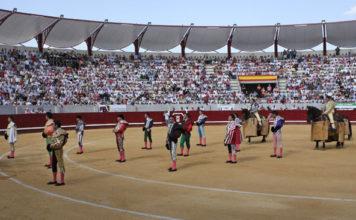 Plaza de toros de Don Benito en el día de su inauguración (FOTO: Gallardo)