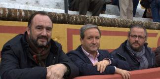 Valentín Cortés, Miguel Ruiz y Nandi Masedo artífices de los mejores años del Patronato (FOTO: Gallardo)