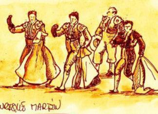 Dibujo de Enrique Martín